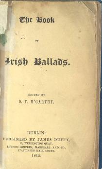 McCarthy: The Book Of Irish Ballads